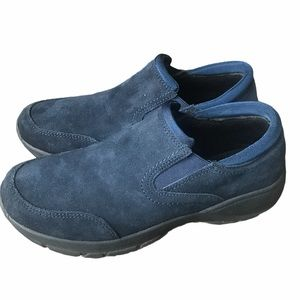 Lands End All Weather Suede Comfort Mocs size 8B